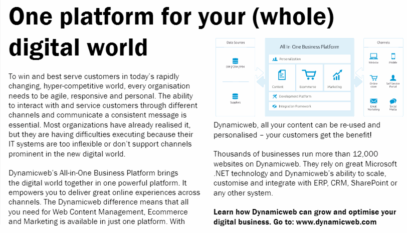 business and industry article dynamicweb